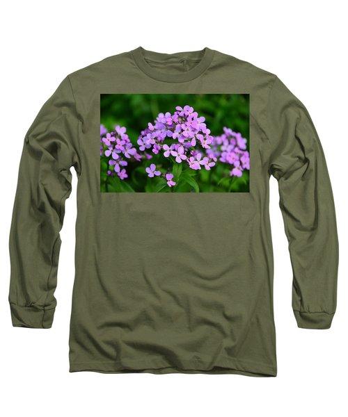 Long Sleeve T-Shirt featuring the photograph Wild Phlox by Debra Martz