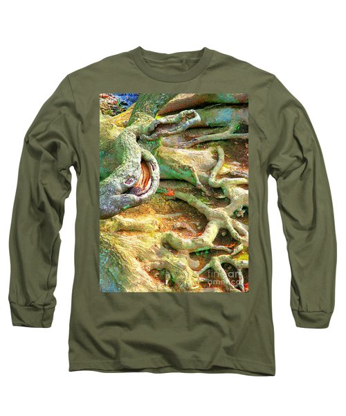 Wild Roots By Christopher Shellhammer Long Sleeve T-Shirt