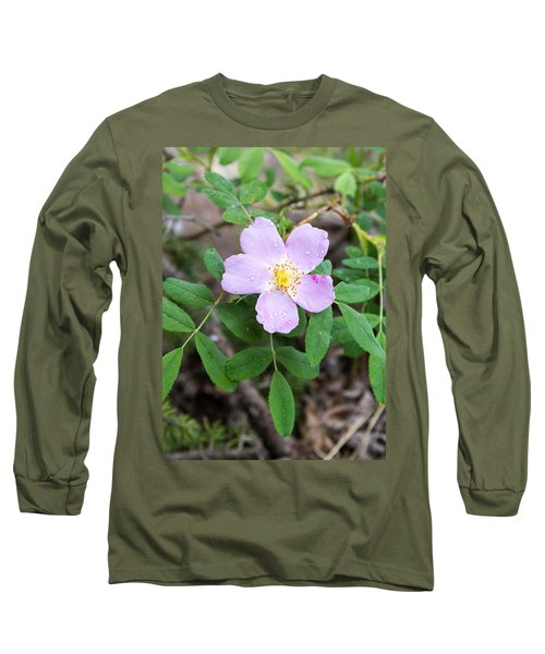 Wild Gentian Long Sleeve T-Shirt