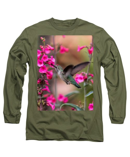 Wild Thing Long Sleeve T-Shirt by Tammy Espino