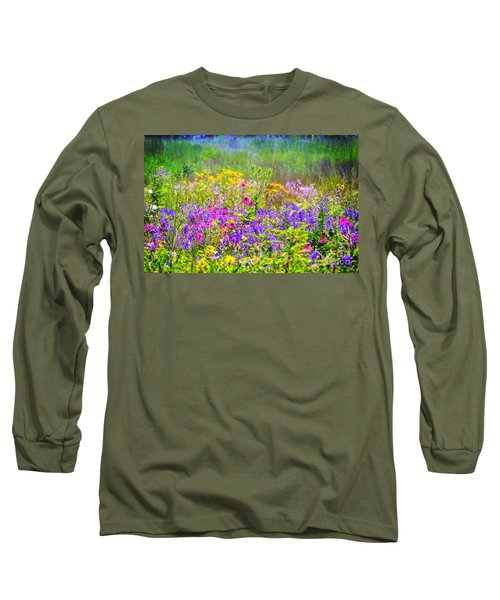 Wildflower Beauty  Long Sleeve T-Shirt