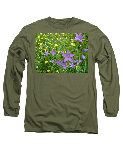 Long Sleeve T-Shirt featuring the photograph Wildflower Garden by Martin Howard