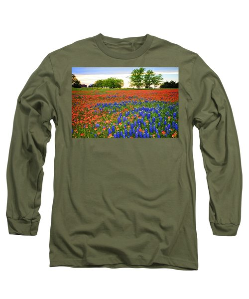 Wildflower Tapestry Long Sleeve T-Shirt