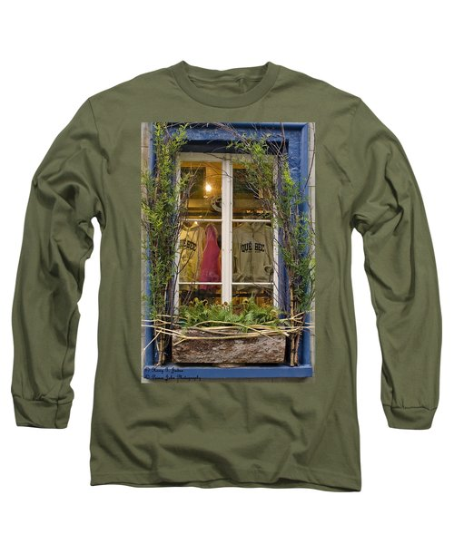 Windows Of Quebec 3 Long Sleeve T-Shirt