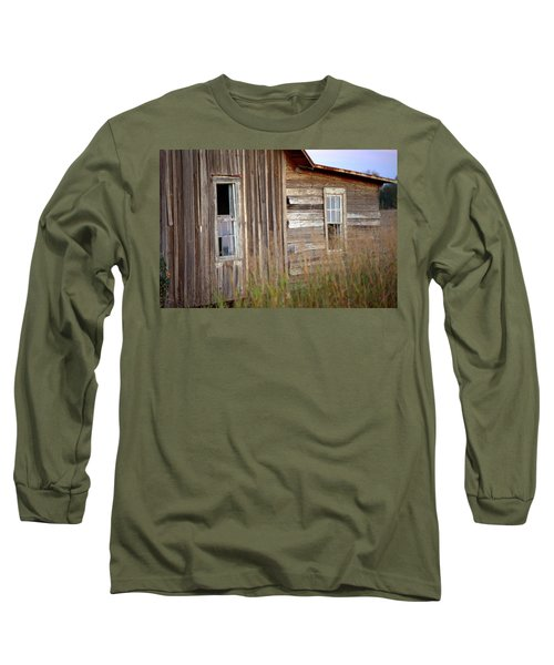 Long Sleeve T-Shirt featuring the photograph Windows On The World by Gordon Elwell