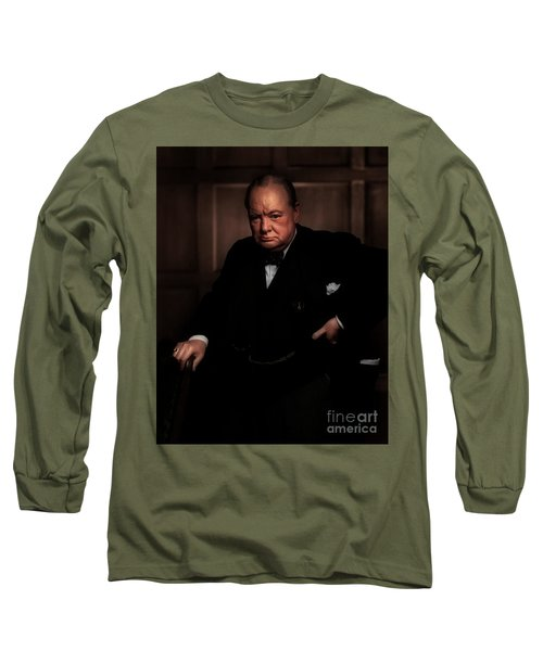 Winston Churchill Long Sleeve T-Shirt