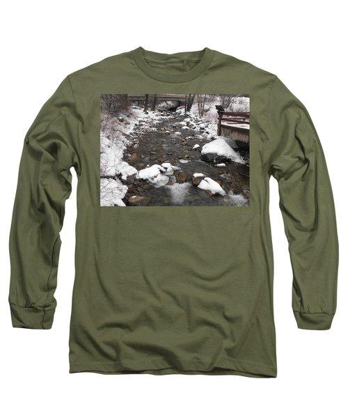 Winter Flow Long Sleeve T-Shirt by Adam Cornelison