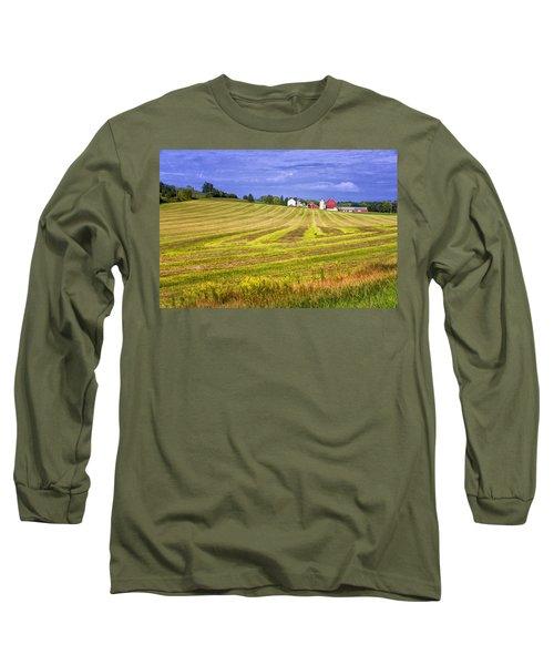 Wisconsin Dawn Long Sleeve T-Shirt by Joan Carroll