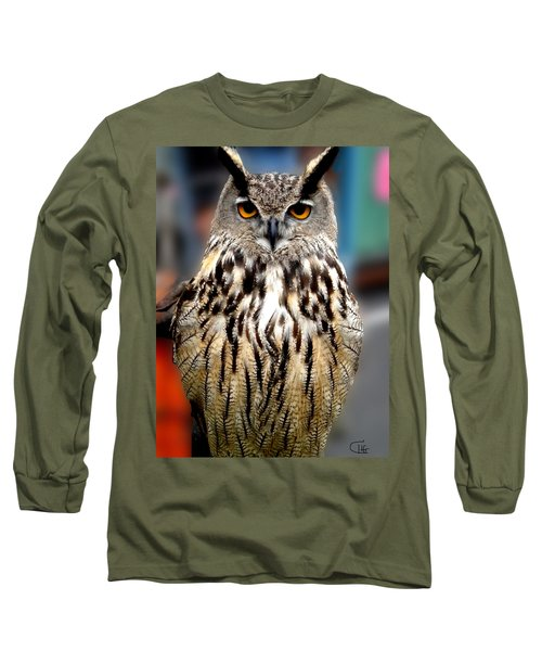 Wise Forest Mountain Owl Spain Long Sleeve T-Shirt