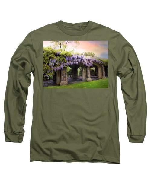 Wisteria In May Long Sleeve T-Shirt
