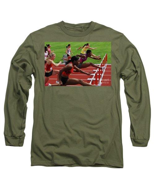 Womens Hurdles 3 Long Sleeve T-Shirt