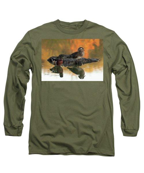 Wood Ducks Long Sleeve T-Shirt