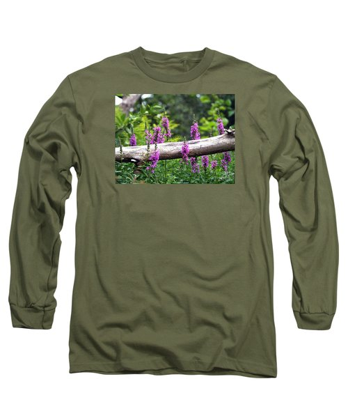 Long Sleeve T-Shirt featuring the photograph Woodland Treasures by Susan  Dimitrakopoulos