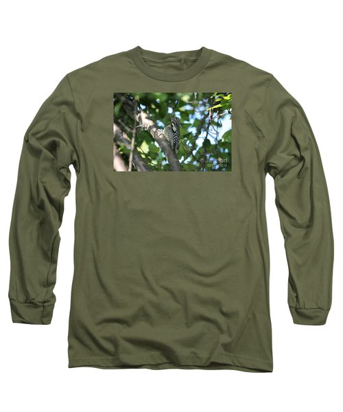 Worn Out Woodpecker Long Sleeve T-Shirt