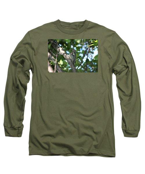 Worn Out Woodpecker Long Sleeve T-Shirt