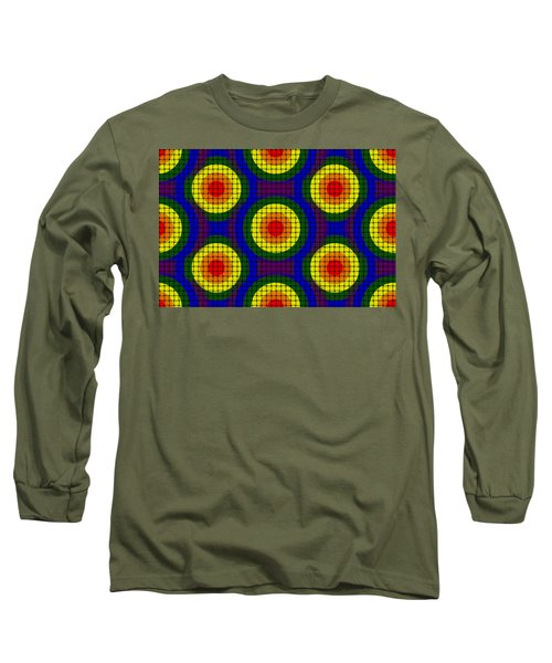 Woven Circles Long Sleeve T-Shirt