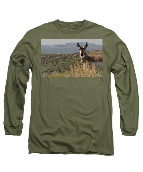 Wyoming Pronghorn Long Sleeve T-Shirt