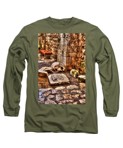 Long Sleeve T-Shirt featuring the photograph Stones That Don't Lie - Israel by Doc Braham