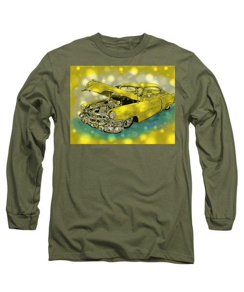 Yellow Cad Long Sleeve T-Shirt