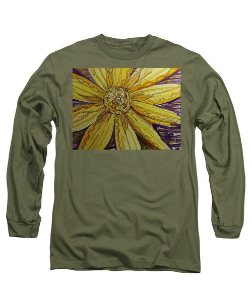 Yellow Chakra Long Sleeve T-Shirt