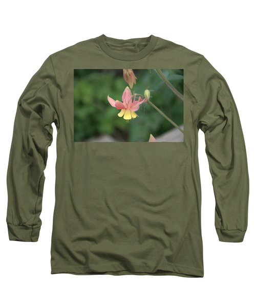Yellow Columbine Long Sleeve T-Shirt