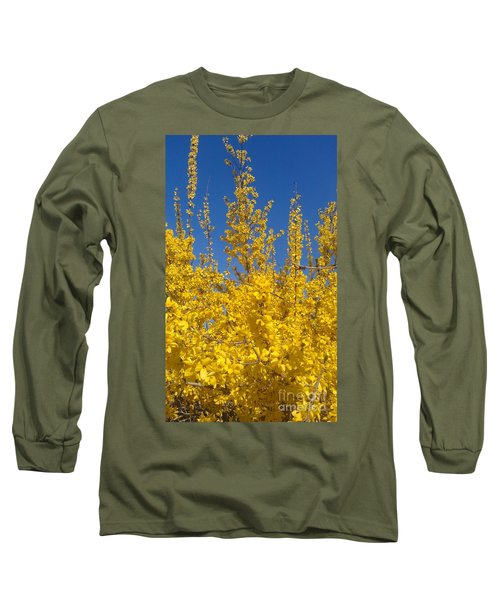 Yellow Explosion Long Sleeve T-Shirt