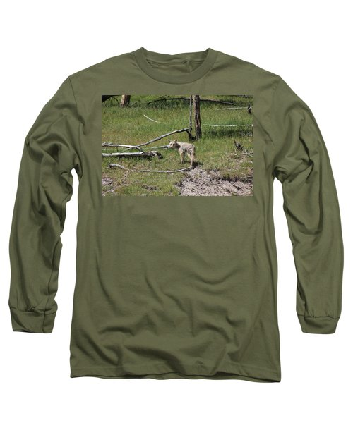 Yellowstone Coyote Long Sleeve T-Shirt