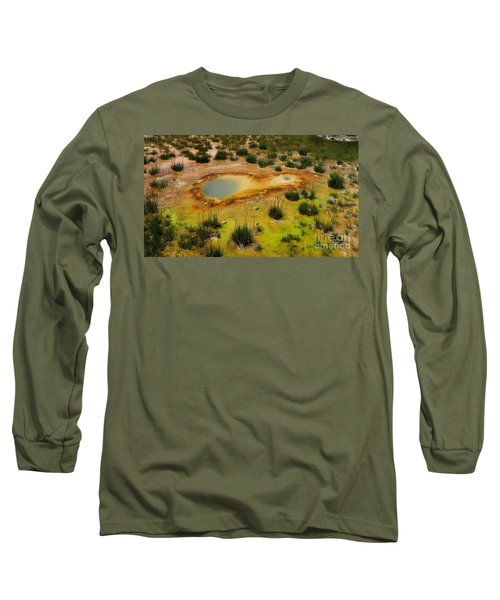 Yellowstone Hot Pool Long Sleeve T-Shirt