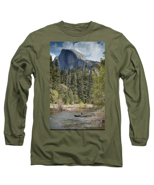 Yosemite National Park. Half Dome Long Sleeve T-Shirt by Juli Scalzi