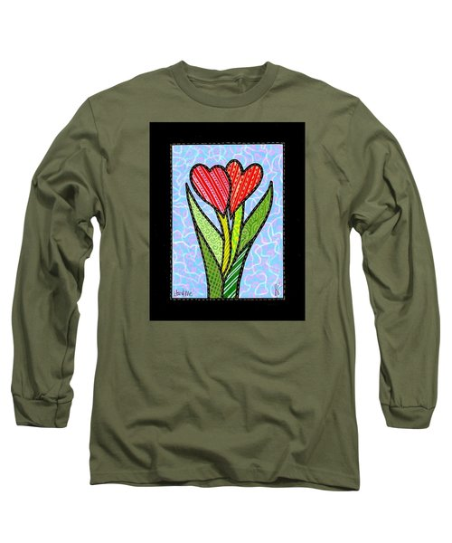 You And Me Long Sleeve T-Shirt by Jim Harris