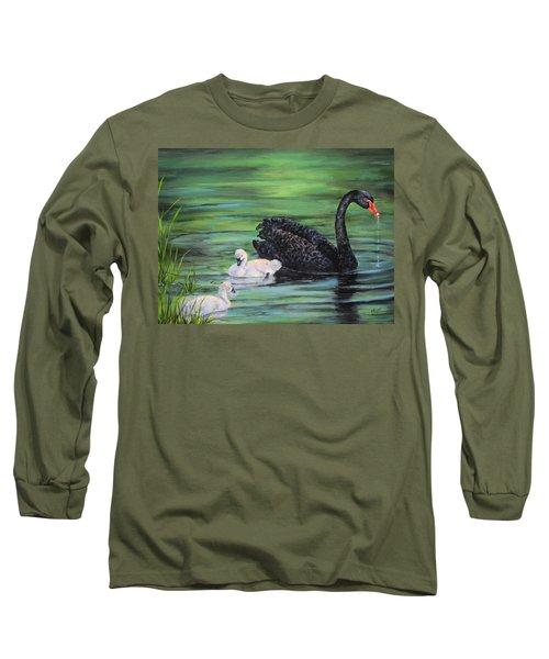 You Comin'--black Swan Long Sleeve T-Shirt