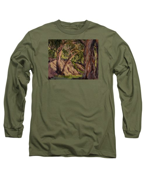 Young And Old Eucalyptus Long Sleeve T-Shirt by Jane Thorpe
