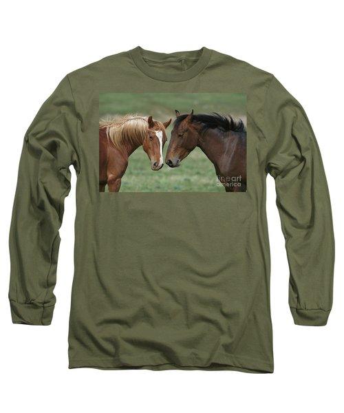Young Mustang Bachelor Stallions Long Sleeve T-Shirt