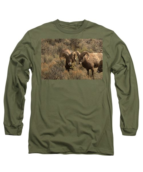 You Are In My Way Long Sleeve T-Shirt