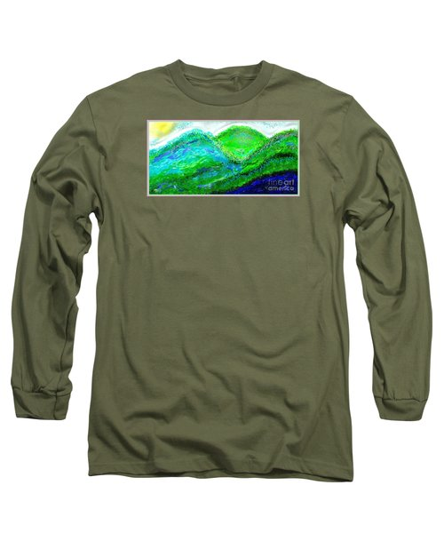 Van Gogh Sunrise Long Sleeve T-Shirt