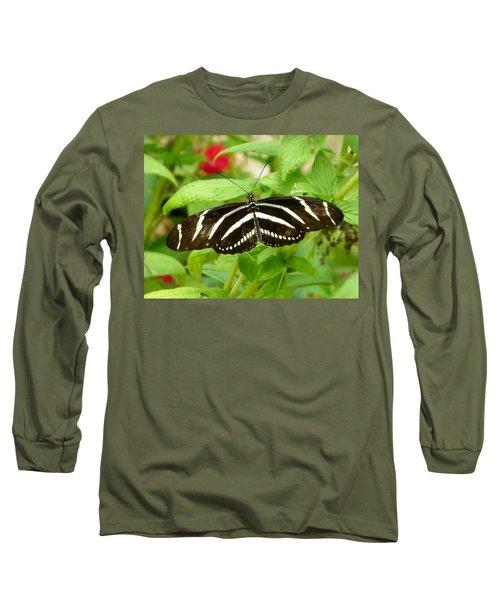Zebra Longwing Long Sleeve T-Shirt