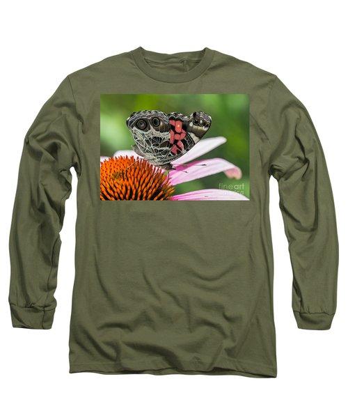Butterfly Feeding Long Sleeve T-Shirt