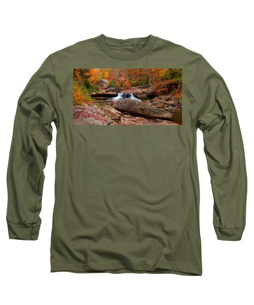 Autumn Leaves At The Mill Long Sleeve T-Shirt