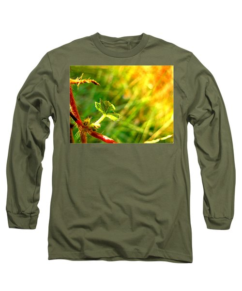 Long Sleeve T-Shirt featuring the photograph A New Morning by Debbie Portwood