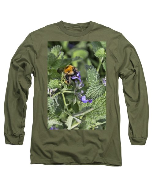 Long Sleeve T-Shirt featuring the photograph Bee by David Gleeson
