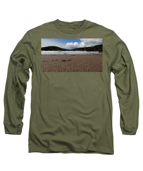 Beenbane Beach Long Sleeve T-Shirt by Barbara Walsh