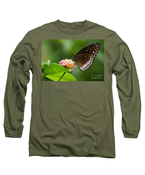 Long Sleeve T-Shirt featuring the photograph Butterfly by Fotosas Photography