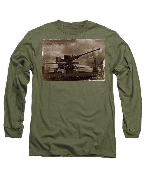 Long Sleeve T-Shirt featuring the photograph Hmas Castlemaine 5 by Blair Stuart