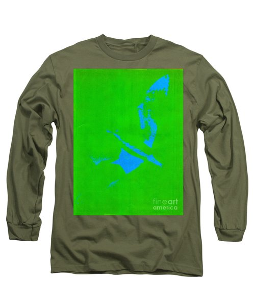 No Limits In Green Long Sleeve T-Shirt