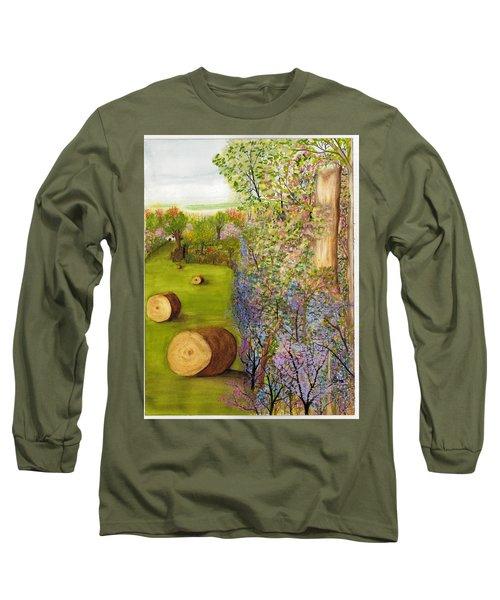 Dogwoods And Redbuds Long Sleeve T-Shirt