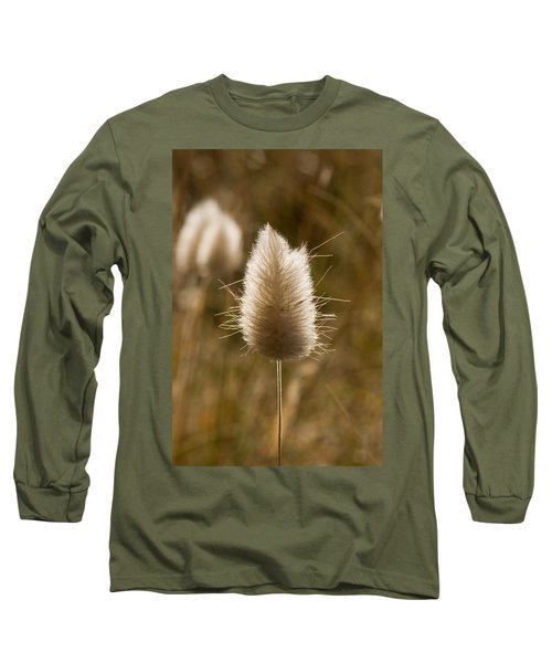 A Beautiful Seed Pod With Beautiful Sun Reflection Long Sleeve T-Shirt