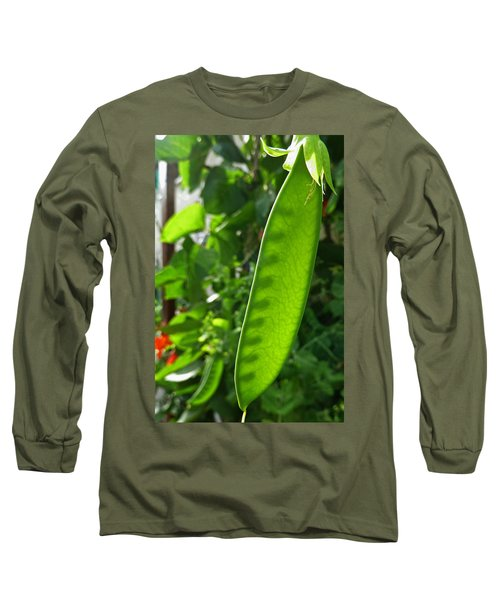 Long Sleeve T-Shirt featuring the photograph A Green Womb by Steve Taylor