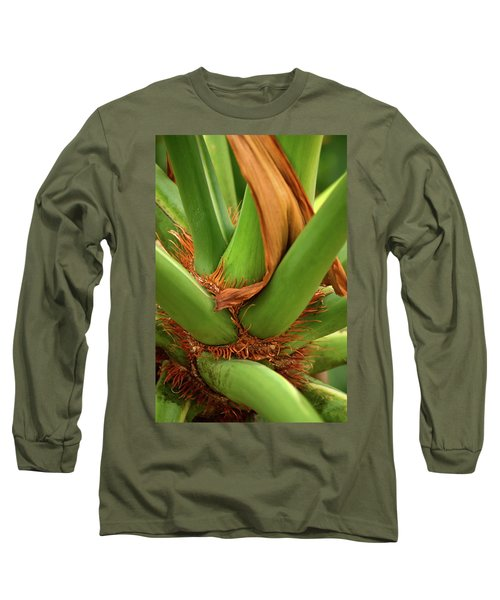 Long Sleeve T-Shirt featuring the photograph A Palmetto's Elbows by JD Grimes