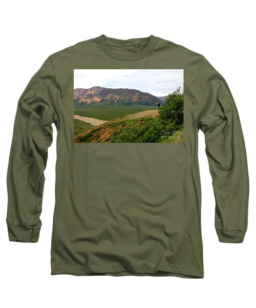 Long Sleeve T-Shirt featuring the photograph A Photographer's Dream by Kathy  White