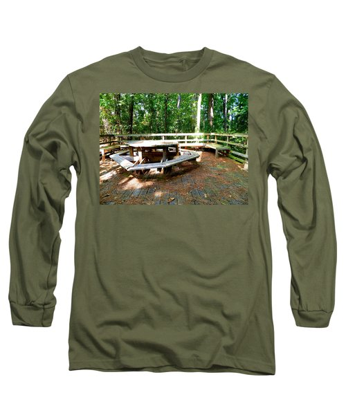 Long Sleeve T-Shirt featuring the photograph A Place For Gathering by Ester  Rogers